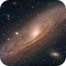 Andromeda Galaxy (M31) in LRGB, another one,                                Jose Carballada