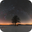 Winter sky 18/02/2021,                                Łukasz Żak