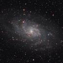 M33 in LHaRGB,                                Sergey Trudolyubov