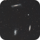 Galaxy Trio M65, M66, and NGC3628 in Leo,                                Keith Lisk