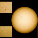 Sun spots in UV,                                poblocki1982