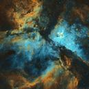 NGC3372 - Eta Carinae Nebula (Hubble Palette Combination - SHO),                                William Tan