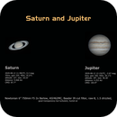 Saturn and Jupiter,                                astropical