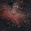 NGC 6611 M16,                                Jacques CROIZIERS