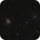 NGC6949 & NGC6939 from Red River Gorge,                                yock1960