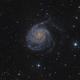 M101 LRGB,                                lucky_s
