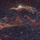 NGC 6960 Veil nebula,                                Jürgen Ehnes
