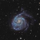 M101 Pinwheel galaxy,                                Ferfex