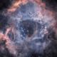Rosetta nebula in HO,                                christian.hennes