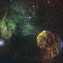 IC 443  The Jellyfish Nebula SHO,                                APshooter