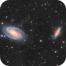 M81 and M82 HaLRGB with IFN,                                Phil Brewer