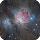 M42 Crowd Image reprocessed with new data and Lucky Imaging,                                Morten Balling