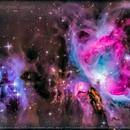 Running Man Nebula (NGC 1977) & Orion Nebula (M42),                                Lopes Maicon