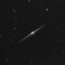"NGC 4565 - Celestron C11 - HyperStar - Asi 183mm Pro - 180 x 15"",                                Alain-Bouchez"