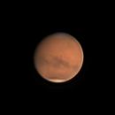 Mars on August 24, 2018 (BaaderMoon & Skyglow Filter),                                JDJ