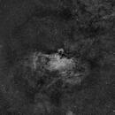 M 16 Eagle nebular Ha,                                Frank Rauschenbach
