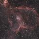 Heart Nebulae (IC1805),                                Bertrand Lemasle
