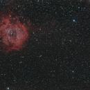 NGC2244 Rosette panorama,                                Joostie