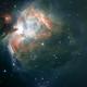 m42 Orion nebula,                                lucsali