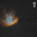 NGC 281 / SH2-184  - a tribute to Toru Iwatani, creator of Pac-Man,                                Axel