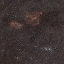 Nébuleuses et amas dans les constellations de Persée et Cassiopée le 25/02/2017,                                Laurent3112