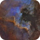 NGC 7000 Cygnus Wall in SHO,                                Randy Lindstrom
