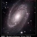 M81, Bode's Galaxy, 3 Jan 2013,                                David Dearden