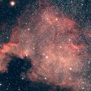 NGC 7000,                                astronono