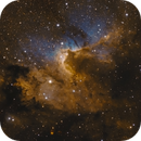 Sh2-155 The Cave Nebula,                                Arun H.