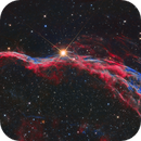 The Witch's Broom Nebula in bi-color  (NGC 6960),                                Trần Hạ
