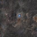 Iris NGC 7023 - VDB 141 - LDN,                                Idir Saci