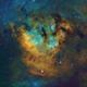Cepheus Pilars (NGC7822) in HSTrgb,                                Jose Carballada