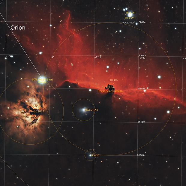 IC 434 Horsehead Nebula 20210228 10200s LRGB 01.7.3,                                Allan Alaoui