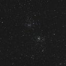 NGC 869/884,                                spectre