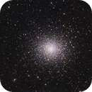 M5 - Globular Cluster in the constellation Serpens,                                Frank Breslawski
