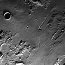 Moon - Rima Hyginus and Rima Triesnecker,                                Ruediger