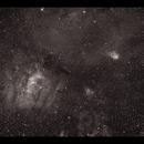 Bubble & Co (NGC7635, NGC7538, Sh2-159) Ha,                                Göran Nilsson