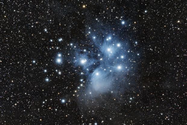 Pleiades (M45),                                Bertrand Lemasle