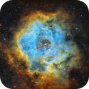 Rosette Nebula in the Hubble Palette,                                Chuck's Astrophot...