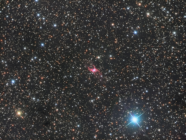 NGC 6537 The Red Spider Nebula,                                Stephen_H