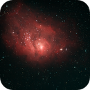 Messier 8: The Lagoon Nebula,                                James Schrader