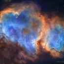 IC1848 Soul Nebula,                                tbcgeorge