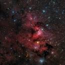 Sh2-155 - Cave Nebula - LRGB,                                Deep Sky West (Lloyd)