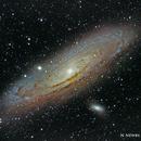 M31 - Andromeda (M32, M110),                                Slynxx