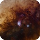Lagoon and Trifid Widefield,                                Paul Hancock