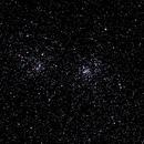 NGC 869 NGC 884 Double Cluster ,                                Dennis Vollink
