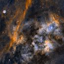 Sh 2-115 and Sh 2-116 in Cygnus,                                JNieto