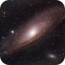 M31 Andromeda Galaxy HaLRGB,                                Michael Caller