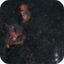 The Heart and Soul Nebulae with the Perseus Cluster,                                Alessandro Micco