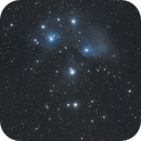 M45 The Pleiades,                                Elmiko